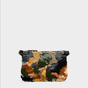 Zara Sequinned 2 in 1 Belt Bag